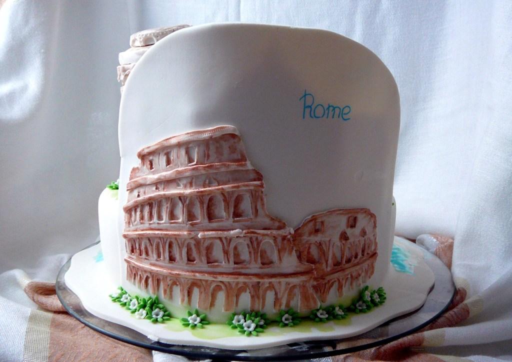 Фото торта на историческую тему