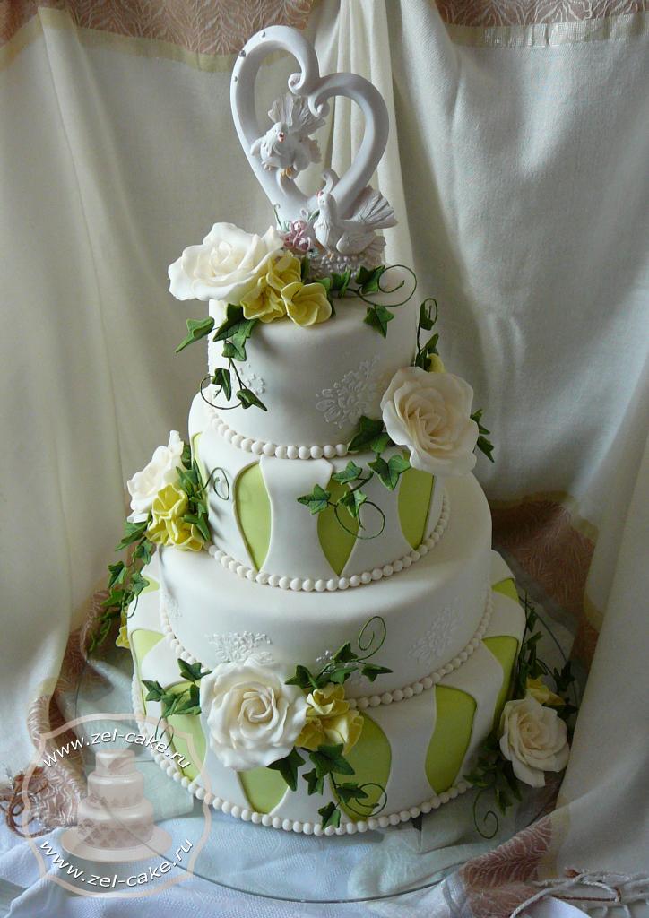 5 кг свадебный торт на