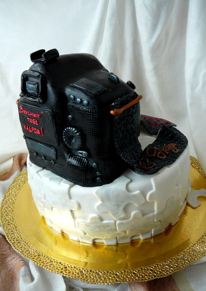 Торт-фотоаппарат киев