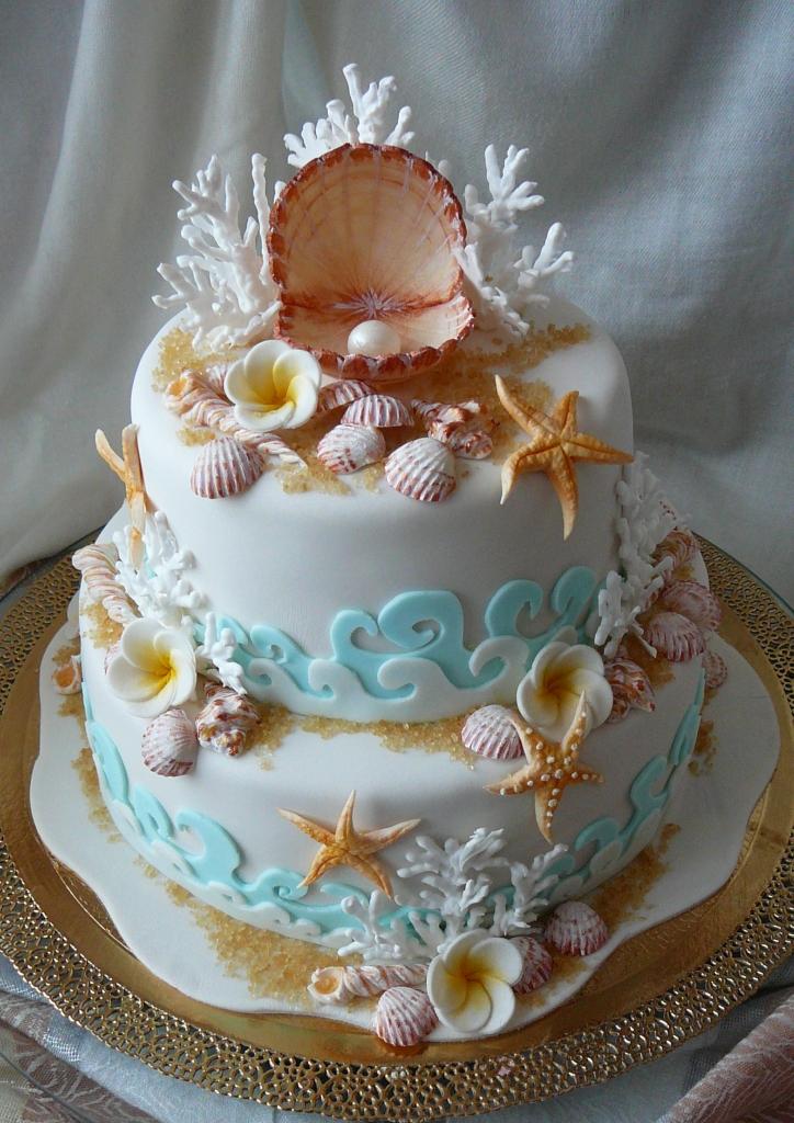 Торт в морском стиле